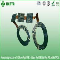 Multilayer rigid-flexible PCB