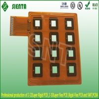 Double layer flexible PCB
